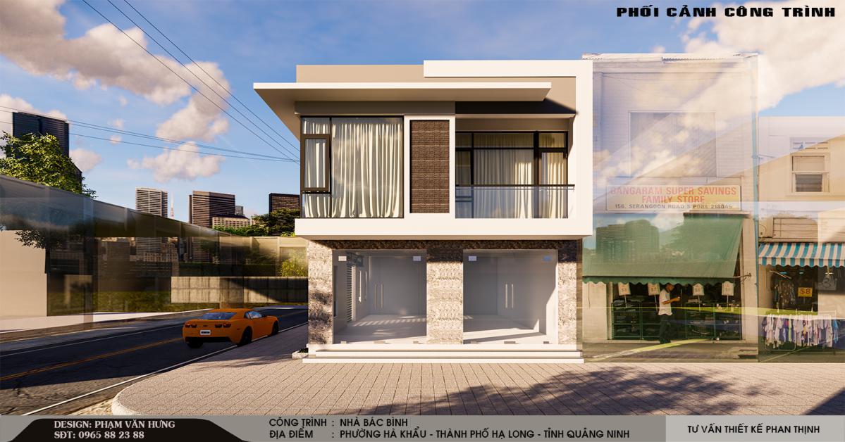 mẫu thiết kế nhà đẹp quảng ninh