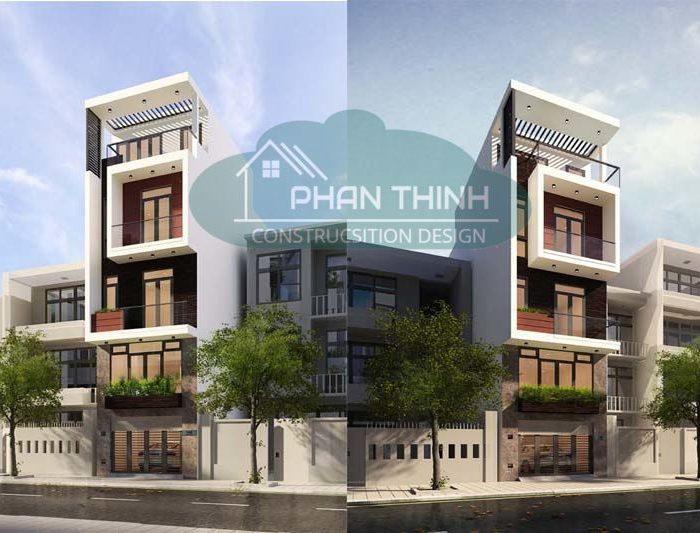 thiết kế nhà đẹp hiện đại Quảng Ninh