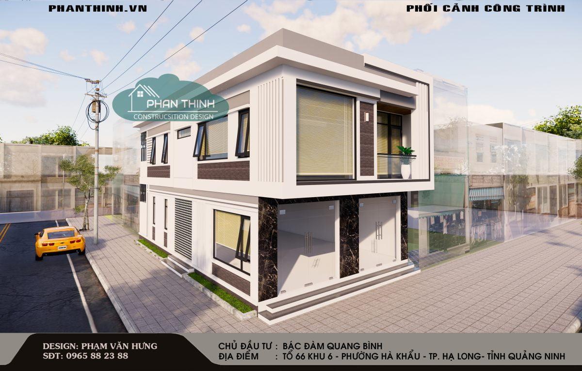 thiết kế nhà đẹp tại Quảng Ninh