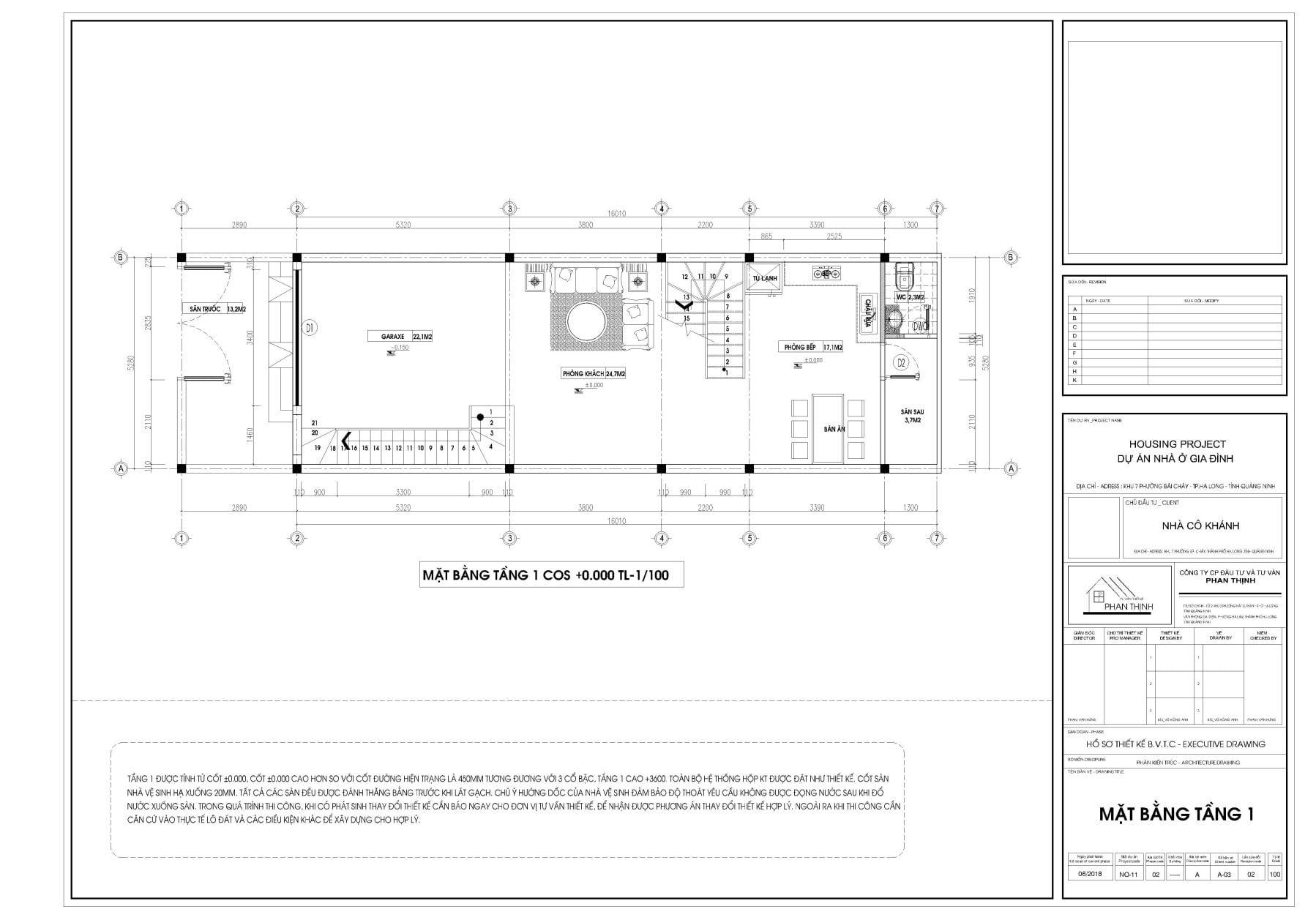 thiết kế nhà ống 3 tầng quảng ninh