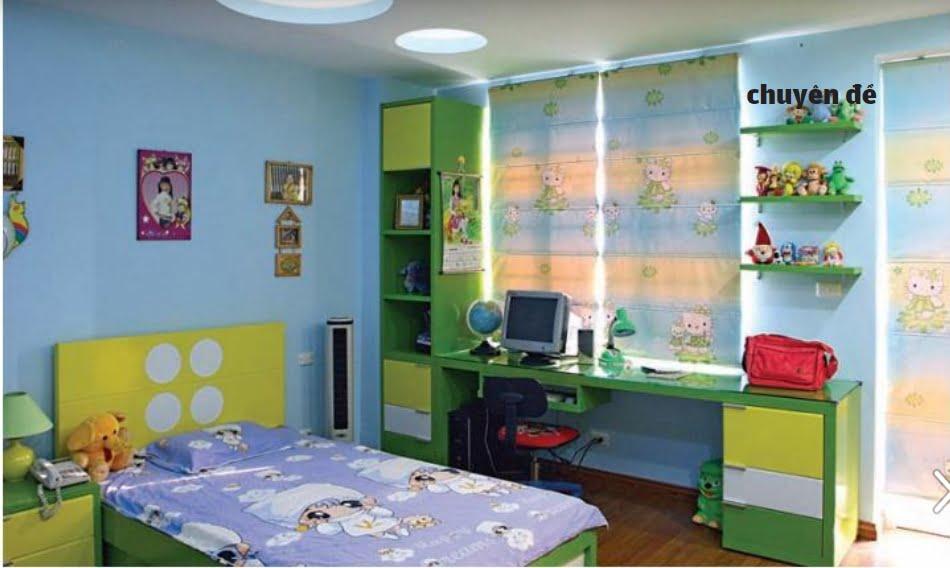 Thiết kế phòng trẻ em