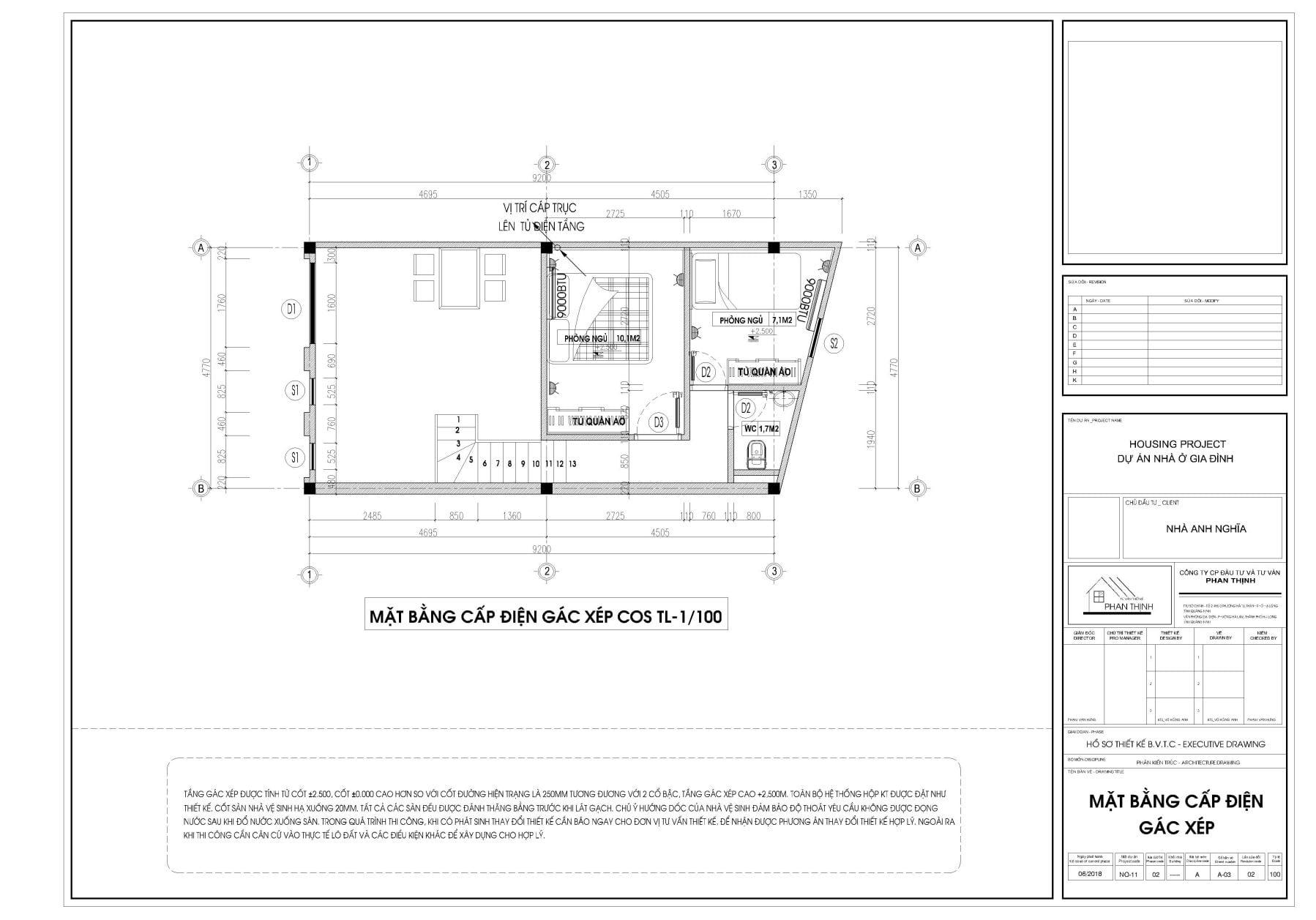 thiết kế nhà ống 1 tầng tại quảng ninh