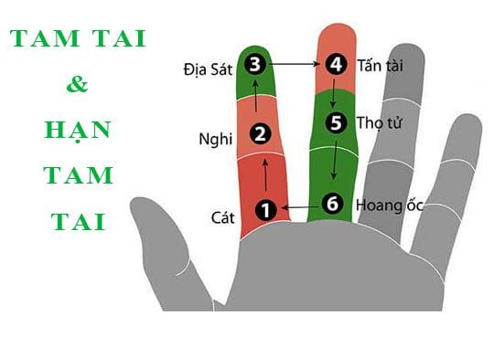 cách tính hoang ốc trên bàn tay