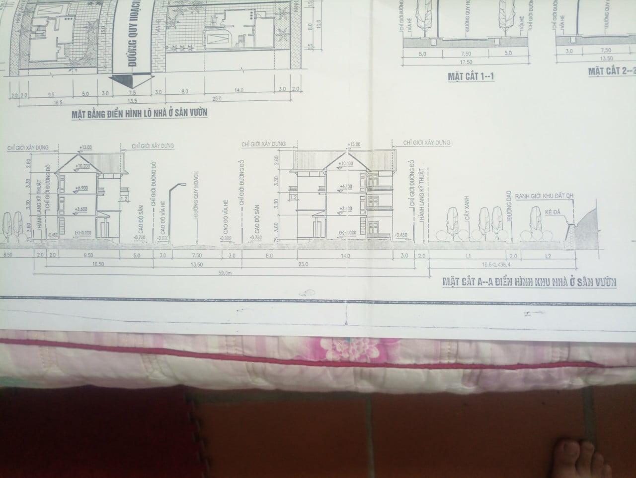 Quy định chiều cao của ngôi nhà