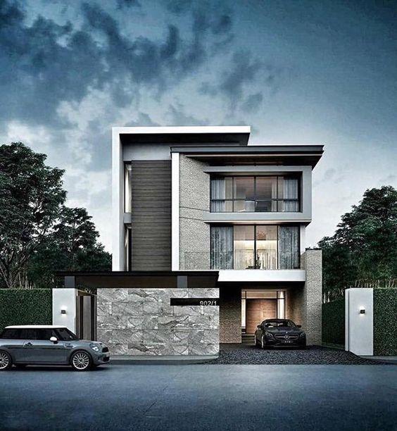 Thiết kế nhà phố 3 tầng đẹp tại Quảng Ninh, mẫu nhà biệt thự đẹp tại Quảng Ninh