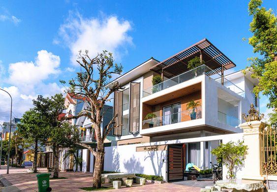 thiết kế biệt thự đẹp hiện đại tại Quảng Ninh