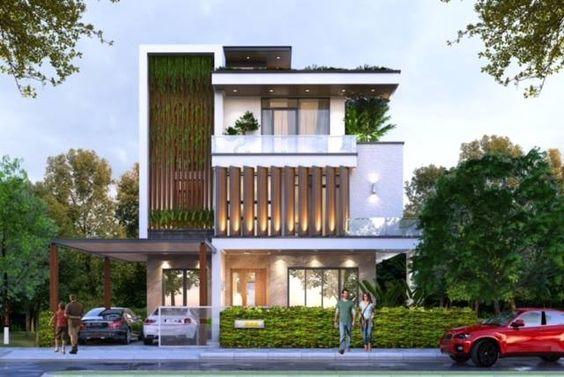 Mẫu nhà biệt thự 3 tầng tại Quảng Ninh