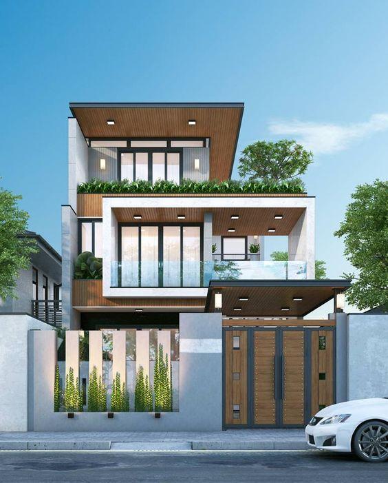 Mẫu nhà biệt thự 3 tầng đẹp tại Quảng Ninh