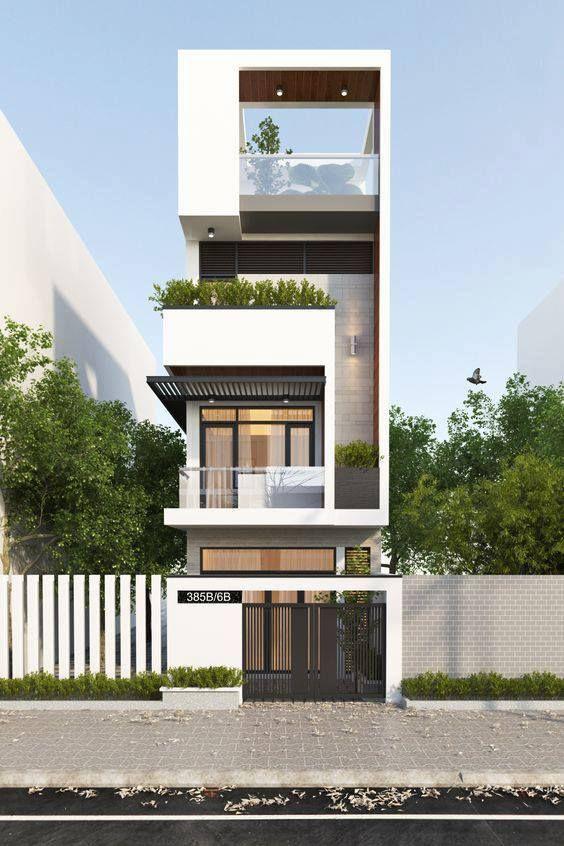 Nhà phố hiện đại, 4 tầng 1 tum tại Quảng Ninh, tư vấn thiết kế nhà tại Quảng Ninh