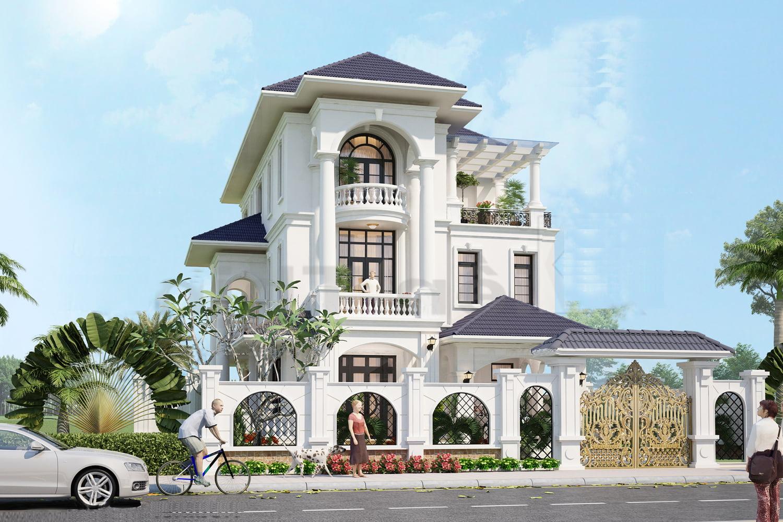 Biệt thự siêu đẹp tại Quảng Ninh, mang phong cách tân cổ điển