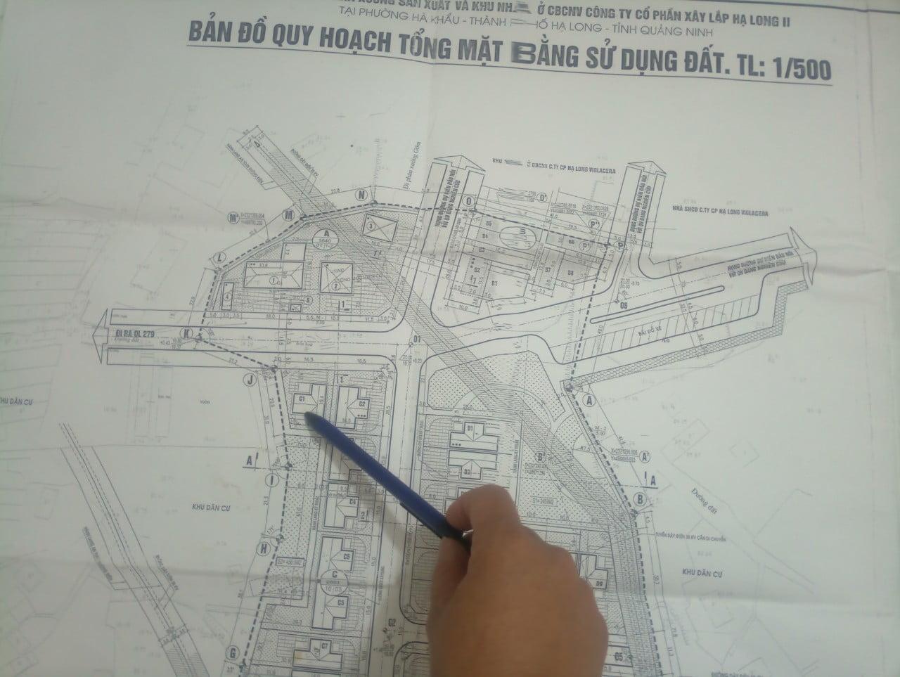 vị trí xây dựng của căn nhà