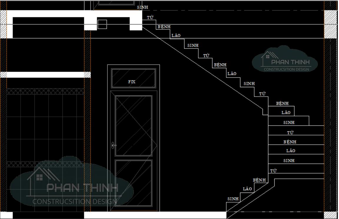Tính số bậc cầu thang 21 bậc 23 bậc 25 bậc