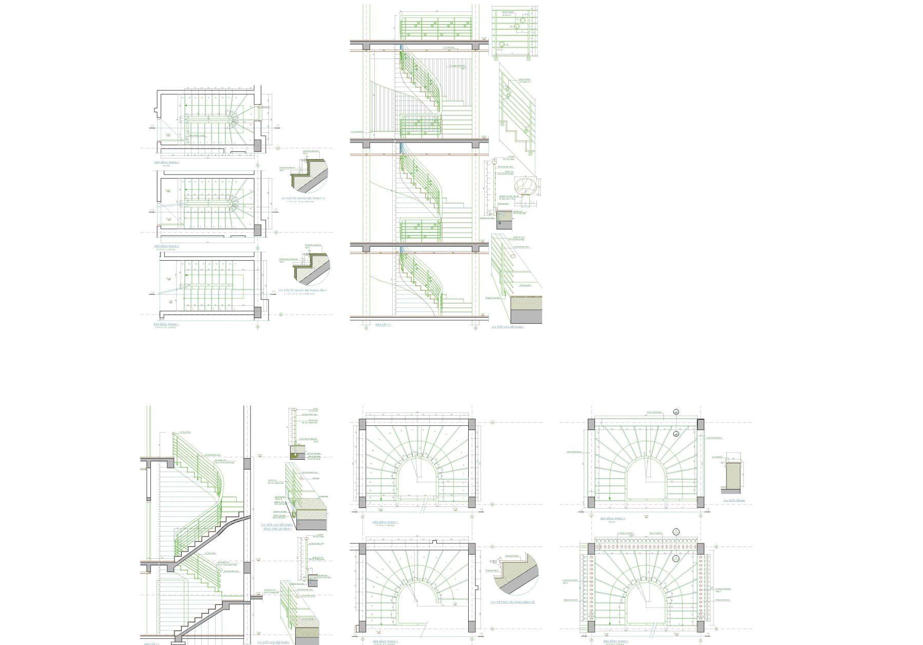 Thư viện download bản vẽ cầu thang autocad