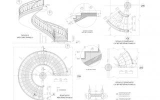 Tổng hợp thư viện bản vẽ cầu thang autocad – Link Nhanh