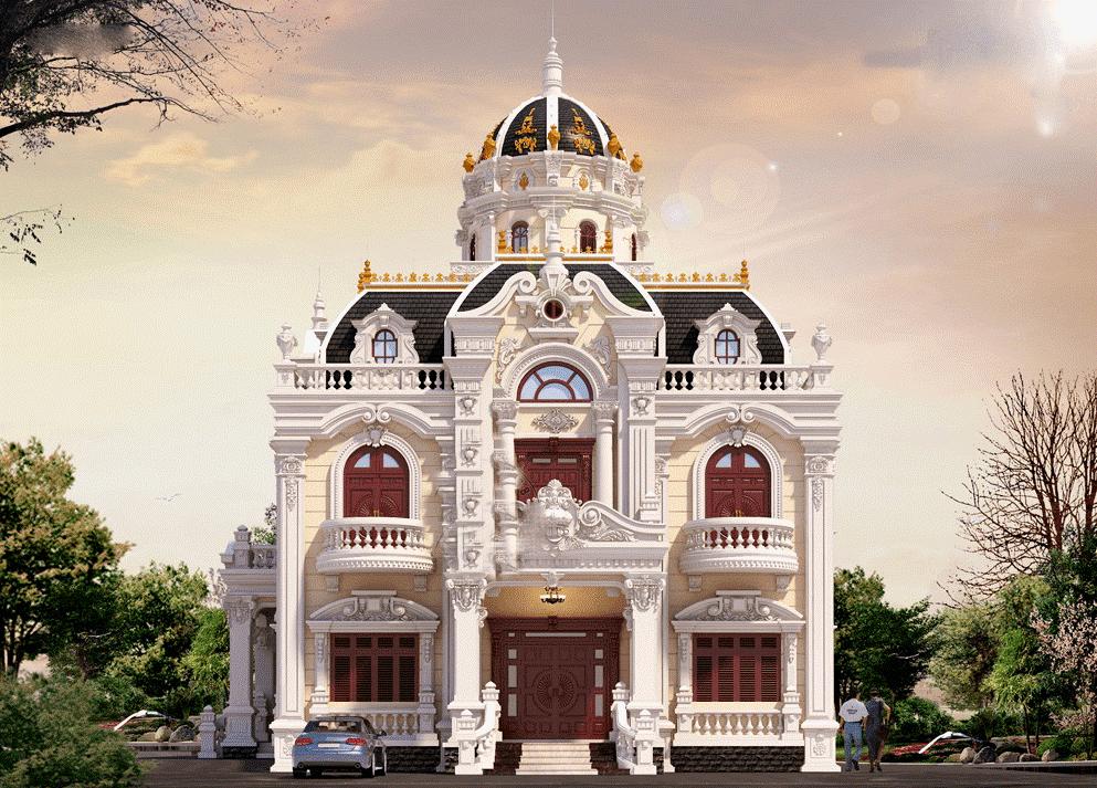 Biệt thự cổ điển siêu đẹp tại Quảng Ninh