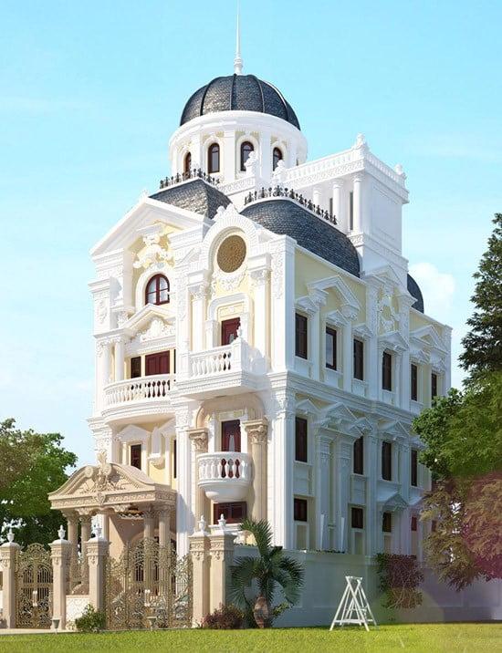 Biệt thự cổ điển đẹp tại Quảng Ninh 2019