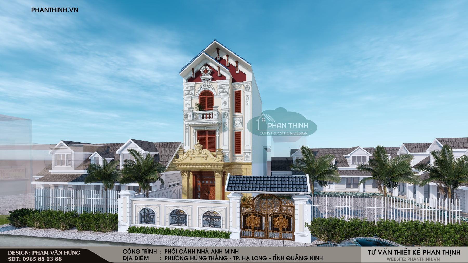 Ngôi biệt thự phong cách cổ điển đẹp tại Quảng Ninh