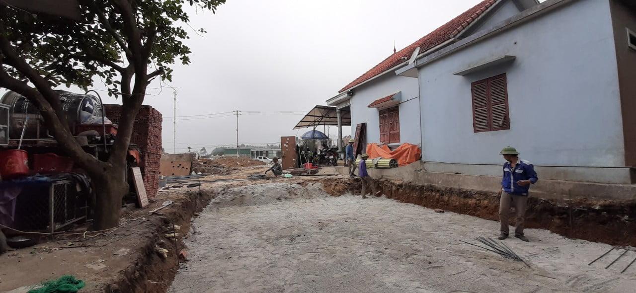 Hình ảnh quá trình giám sát tác giả sau khi thiết kế tại phường Đại Yên, thành phố Hạ Long, tỉnh Quảng Ninh