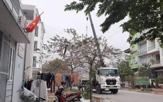 Hình ảnh giám sát khoan cọc sau thiết kế, gần thanh tra tỉnh Quảng Ninh