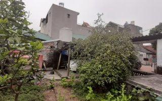 Hình ảnh khảo sát khu đất, trước khi thiết kế nhà tại phường Giếng Đáy.