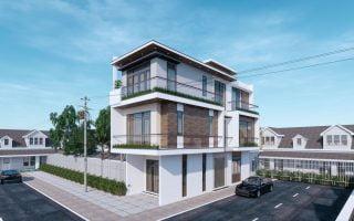 Nhà 3 tầng 2 mặt tiền 4,5 x 15m kiến trúc hiện đại tại phường Hà Khánh