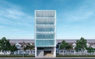 Thiết kế và giám sát nhà 7 tầng hiện đại tại Trần Hưng Đạo, Hạ Long