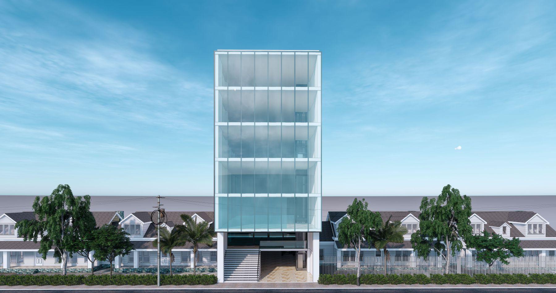 Nhà 7 tầng đẹp và hiện đại ở Quảng Ninh
