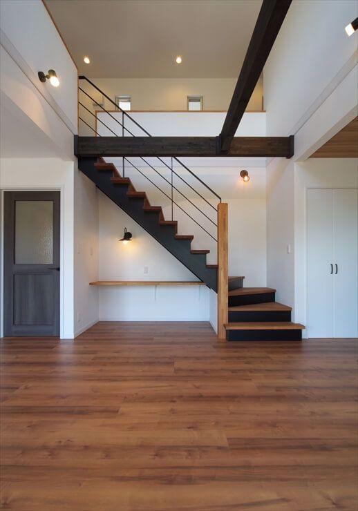 Cầu thang dành cho nhà có tầng lửng