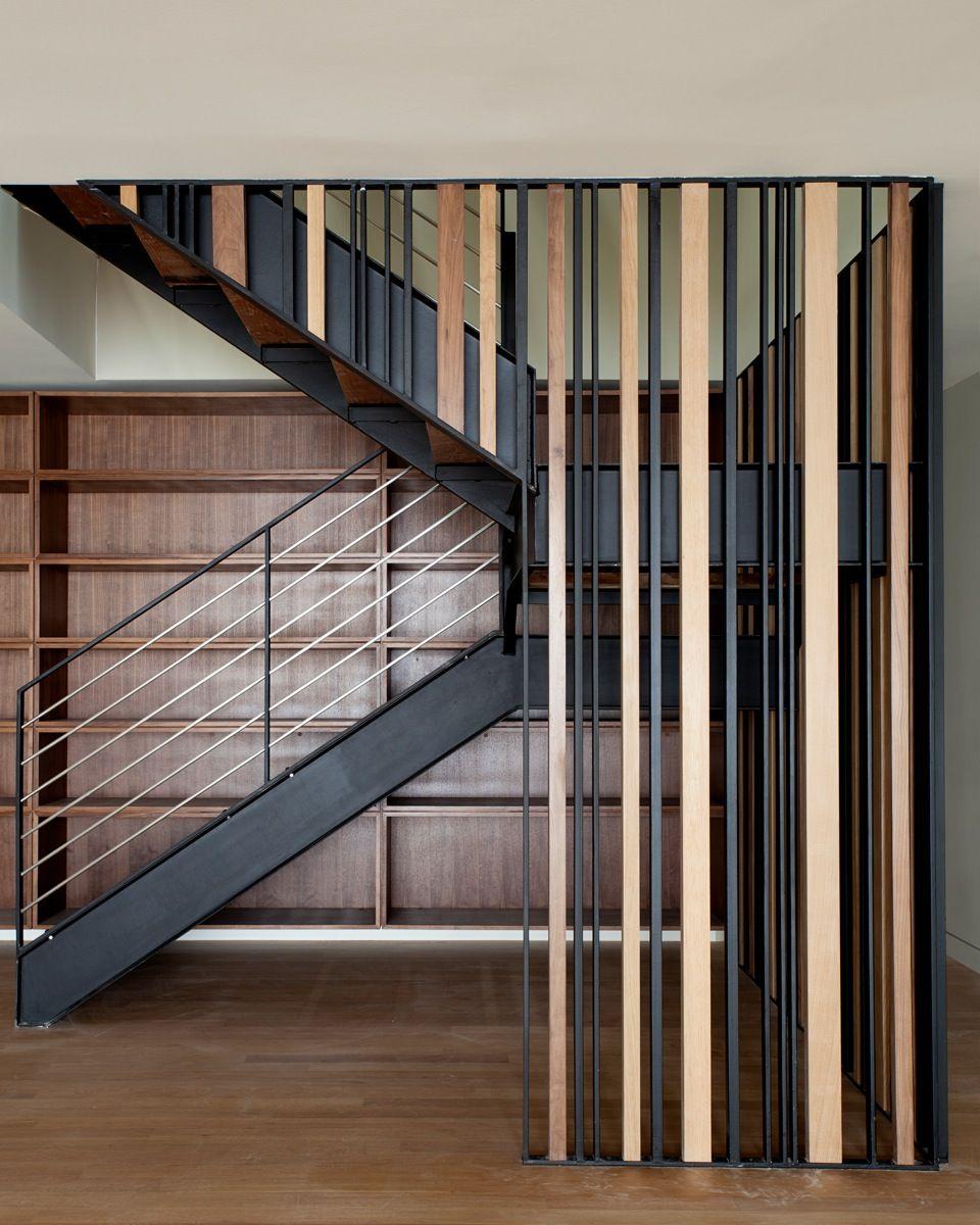 Mẫu cầu thang có thiết kế hiện đại