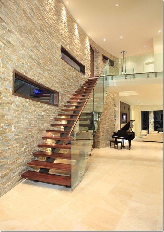 Mẫu cầu thang kết hợp không gian ngôi nhà tạo điểm nhấn đẹp