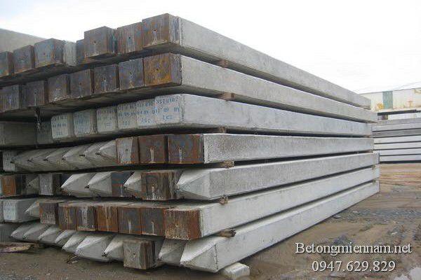 Cọc bê tông tiết diện vuông 25x25cm
