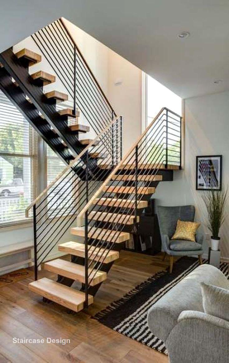 Cầu thang có thiết kế đơn giản hiện đại