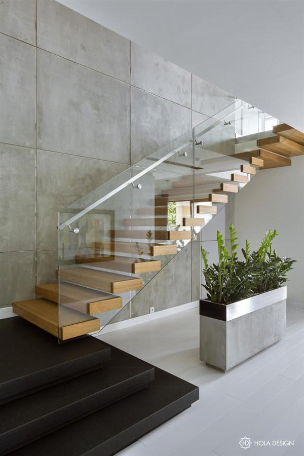 Thiết kế cầu thang cho ngôi nhà hiện đại năm 2020