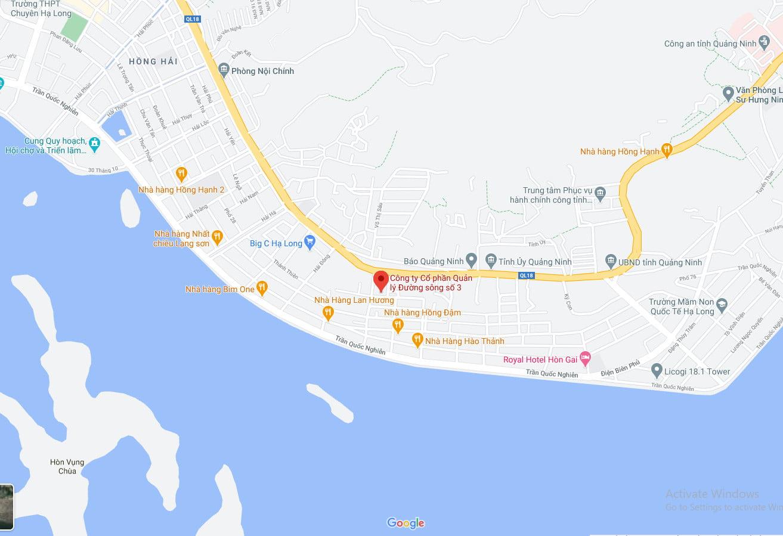 Ngôi nhà được xây dựng tại Ô số 55, khu tái định cư, đường 18A sau đoạn quản lý đường sông 3, phường Hồng Hà, thành phố Hạ Long