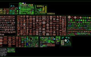 Thư viện cad 2d tổng hợp full miễn phí 2007 – Link Google Drive