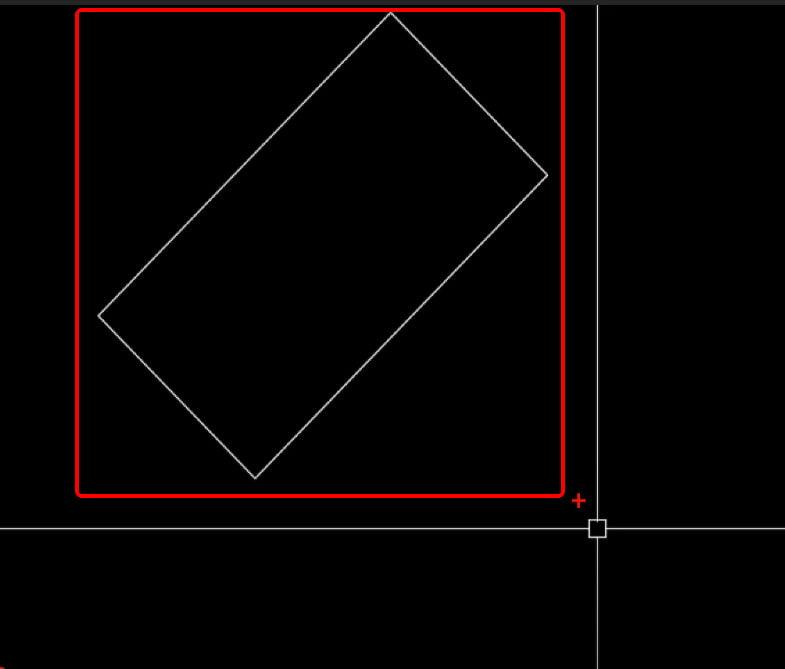 Cách xoay bản vẽ trong autocad xoay 45 độ