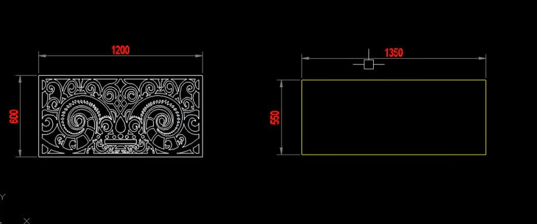 Hướng dẫn scale một chiều tấm CNC sang kích thước mới