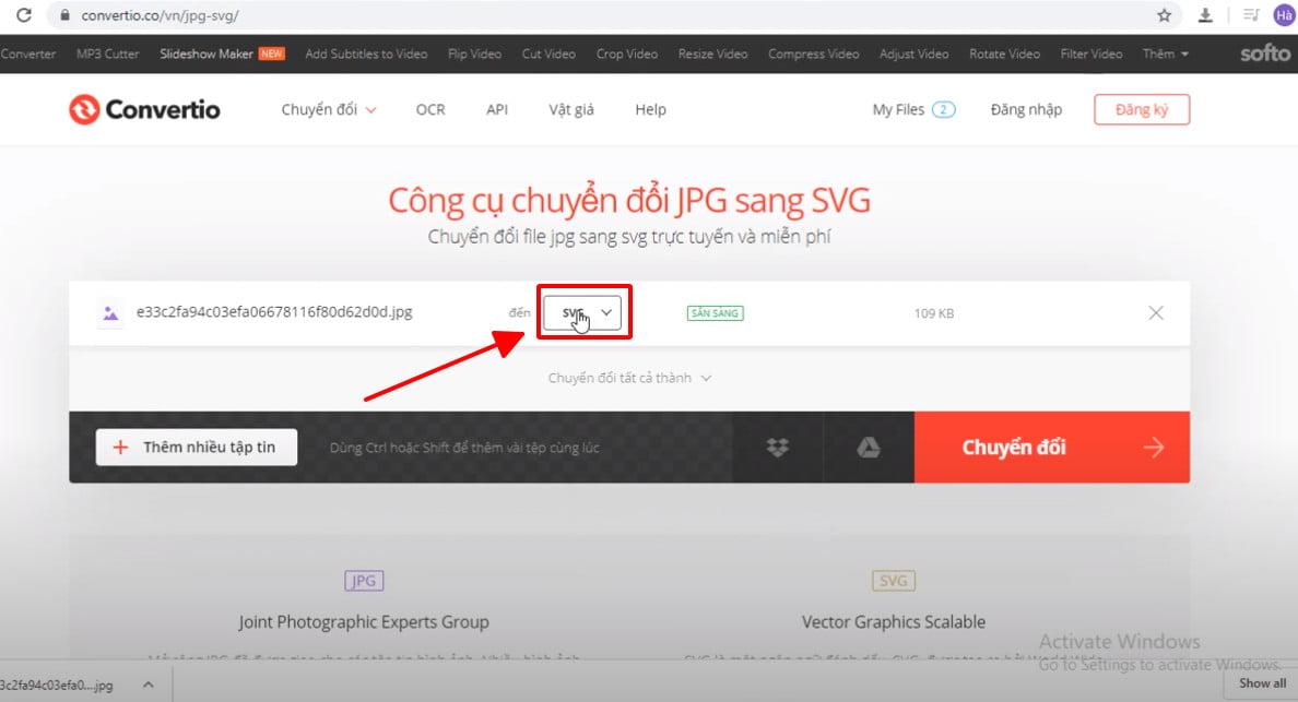 Hướng dẫn convert jpg to dwg trực tuyến