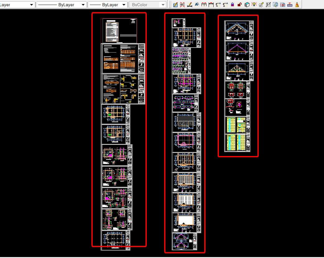 Danh mục thiết kế phần kết cấu