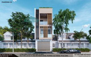 Bản vẽ cad nhà phố 5x20m, đầy đủ file cad kiến trúc, kết cấu, điện nước