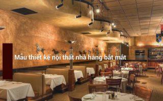 Nguyên lý thiết kế nhà hàng, cách trang trí nội thất nhà hàng đẹp