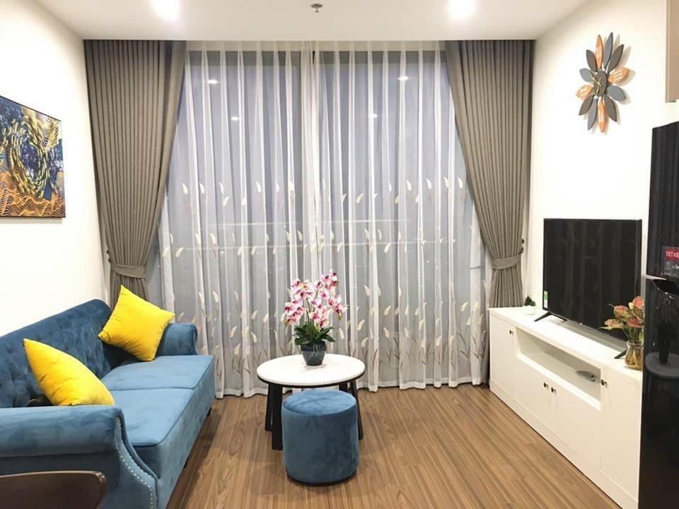 Rèm vải 2 lớp nhà anh Hưng-Hạ Long-Quảng Ninh