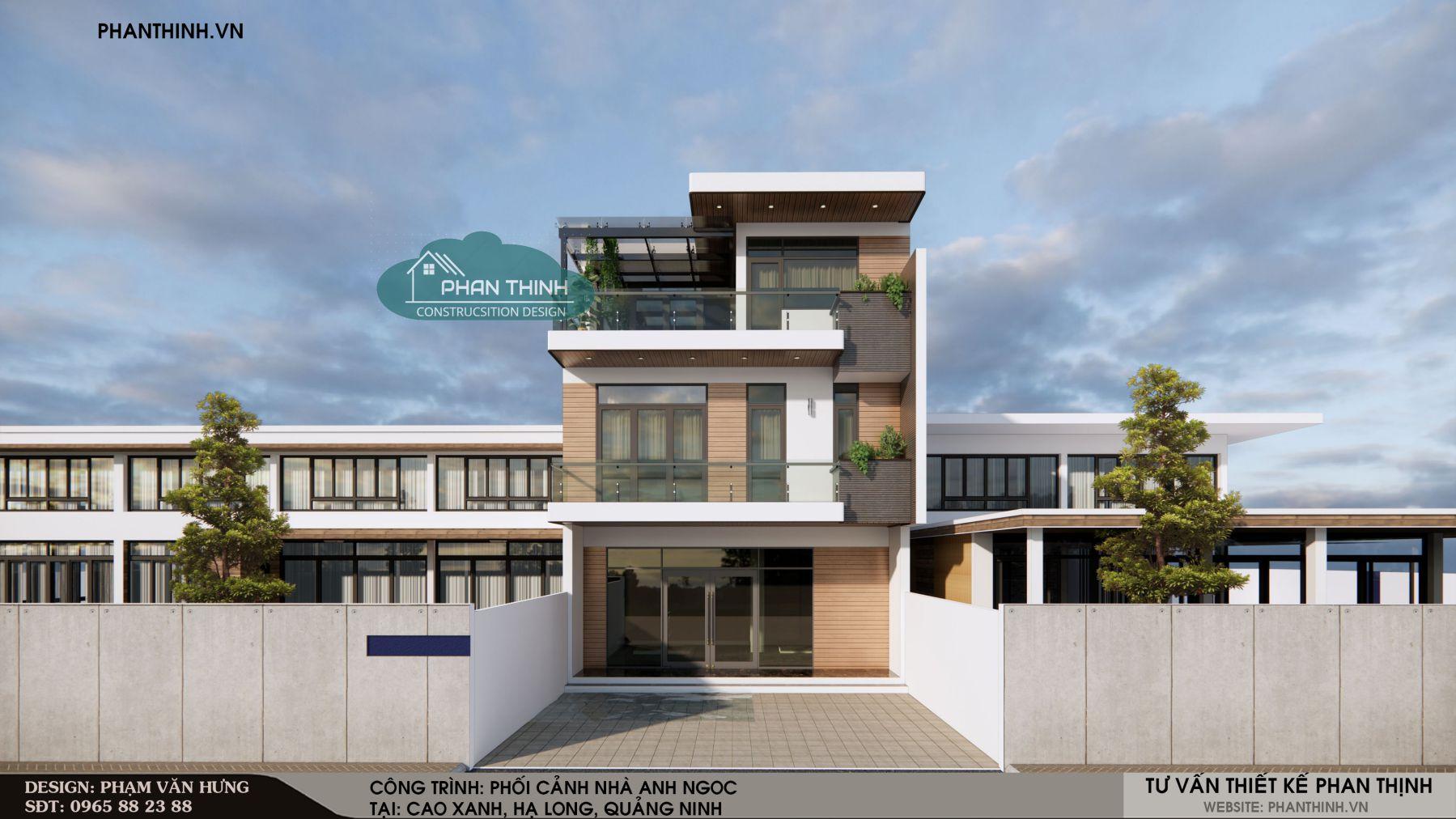 P.A 05-Nhà 3 tầng đẹp tại Cao Xanh, Hạ Long, Quảng Ninh