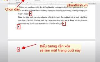 Cách xóa trang trắng trong word, hướng dẫn cách xóa trang trống nhanh.