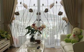 Rèm vải 2 lớp đẹp Quảng Ninh