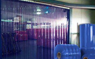 Rèm nhựa ngăn lạnh PVC tại Quảng Ninh