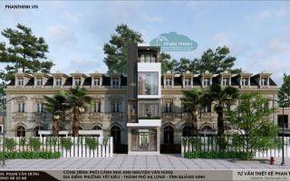 Mẫu nhà phố 4 tầng đẹp,hiện đại tại Quảng Ninh, ngôi nhà anh Nguyễn Văn Hùng tại Hạ Long, Quảng Ninh