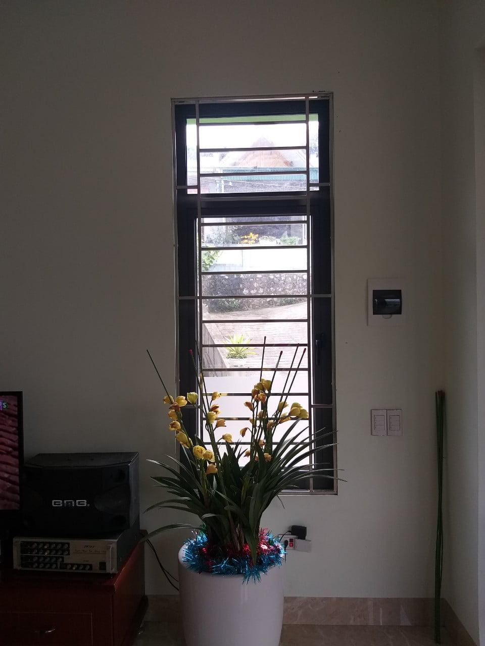 Cửa sổ phòng khách