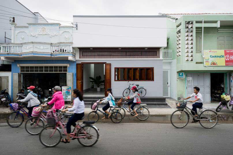 Hình ảnh mặt tiền ngôi nhà ở Chí Linh Hải Dương