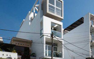 Giới thiệu thiết kế mẫu nhà phố 4 tầng mặt tiền 4x17m ở Hải Dương
